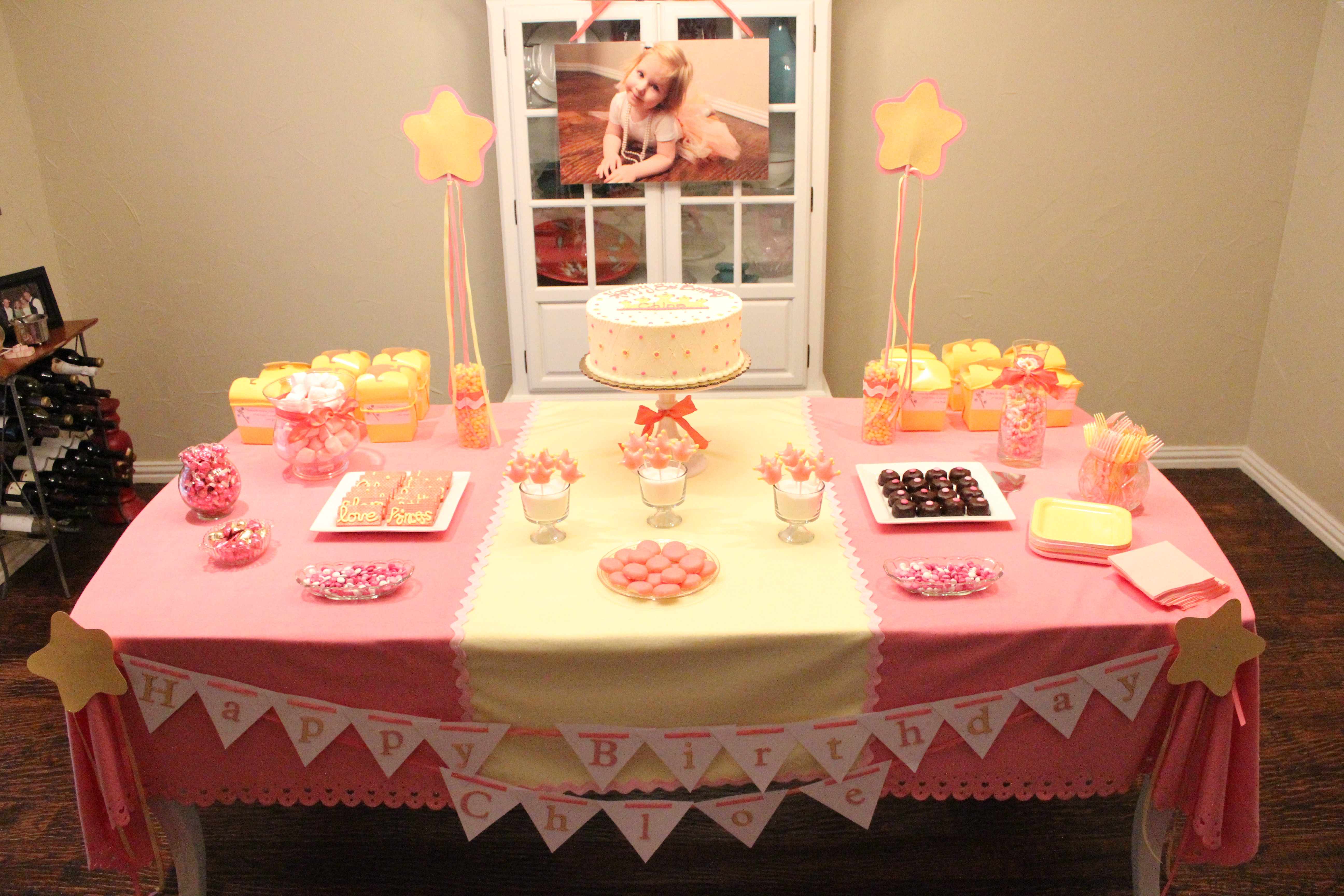 Images Of Birthday Cake Table : A Party for my Princess Crazy Blessed